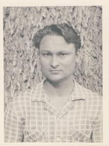 Генадзь Бураўкін. 1950-я гг.