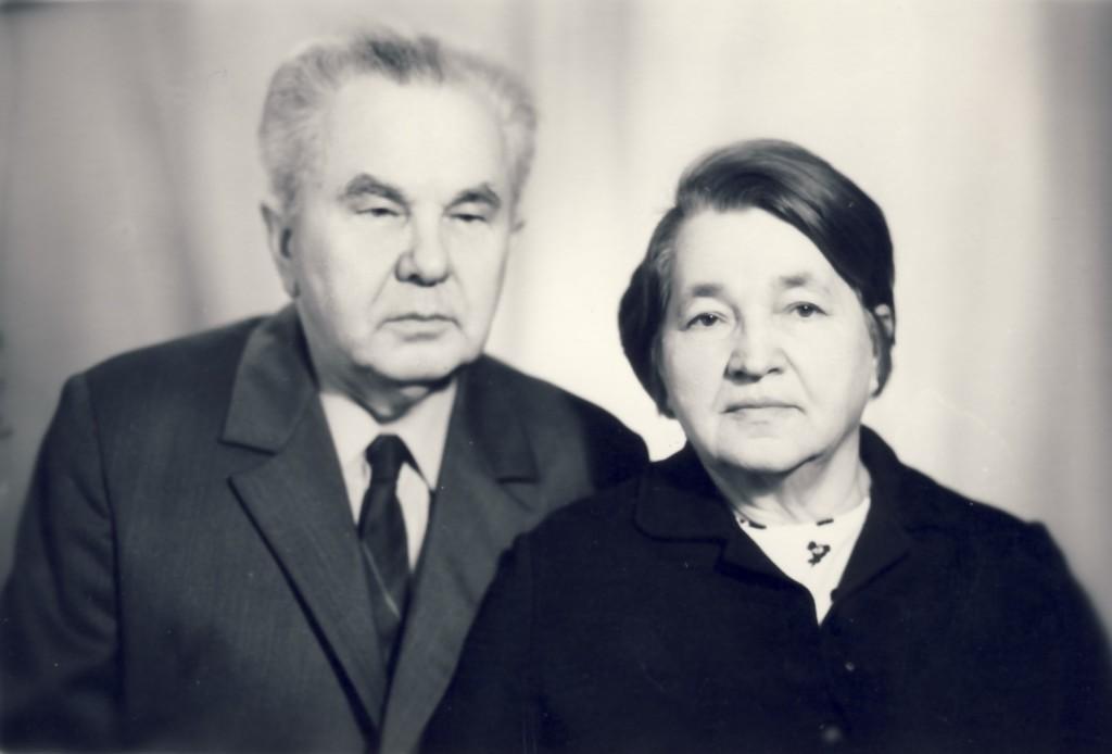 з жонкай Верай Ігнатаўнай. 1979 г.