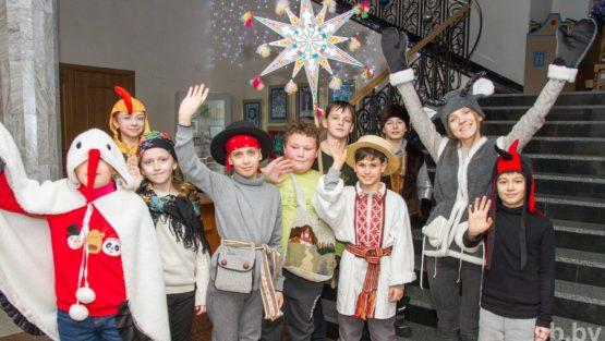 «Каб казу падняцi, трэба штосьцi дацi»: как Минск присоединяется к праздничным традициям Коляд
