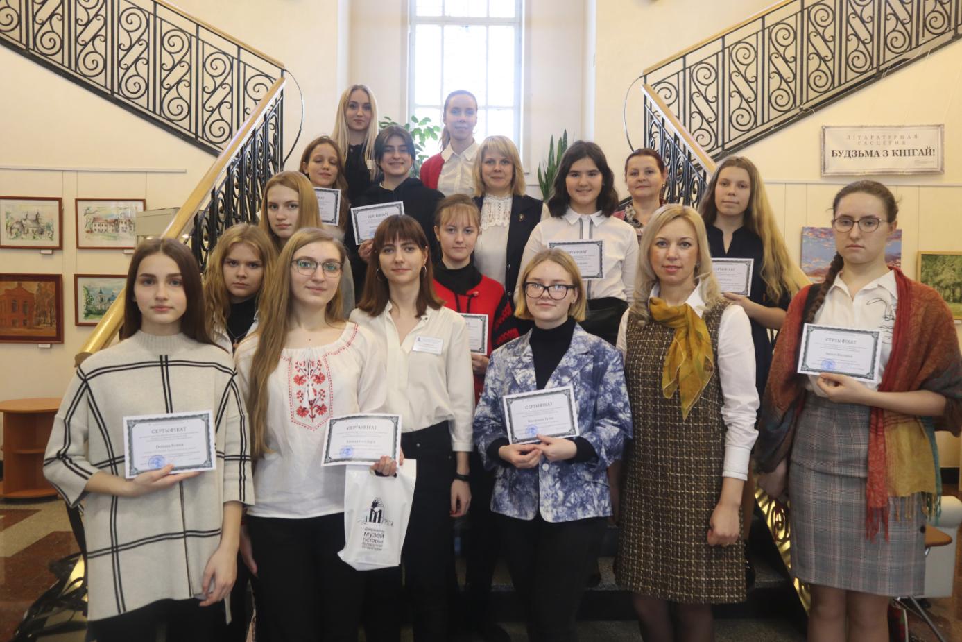 Вынікі І этапу ІІ Вучнёўскай навукова-практычнай канферэнцыі